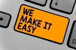 we make it easy button