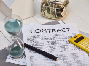 contract to buy house for cash