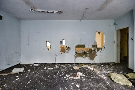 heavily damaged house sold to cash buyer