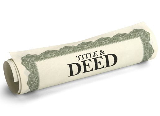Cash for House Deed