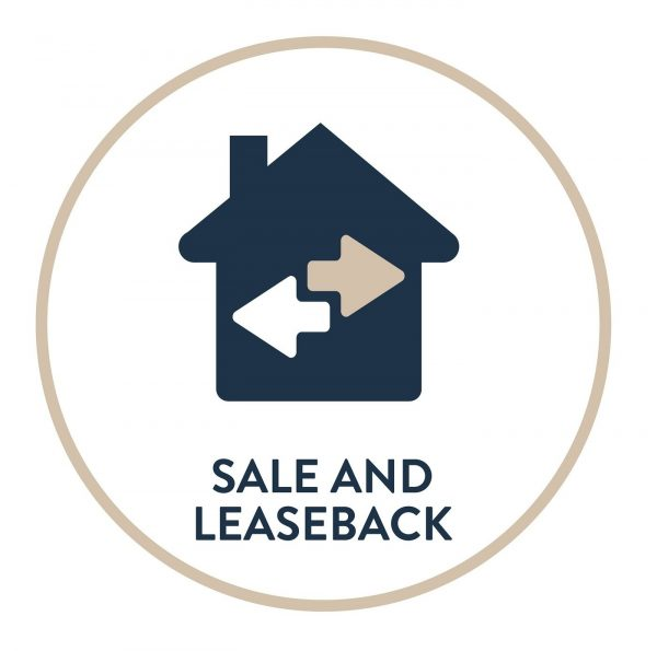 Sale and Leaseback icon